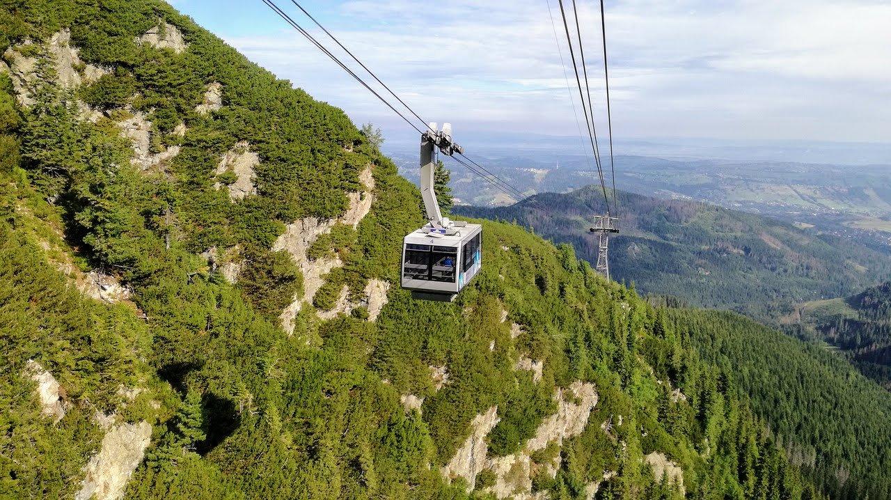 Cable car to Kasprowy Wierch, Tatra mountains