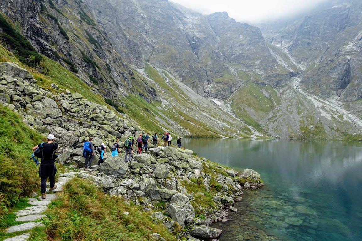 Czarny Staw pod Rysami, Black Ponad, Tatra mountains