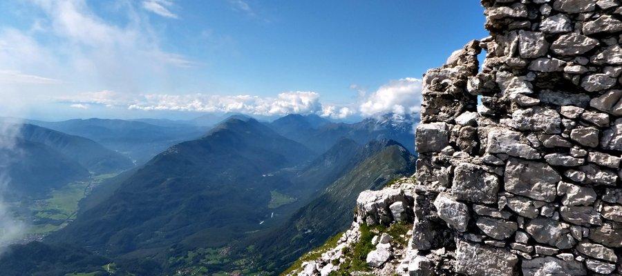 Hiking in Julian Alps, Kobarid, Slovenia