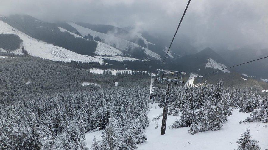 Chopok Jasna ski resort, Tatra mountains, Slovakia