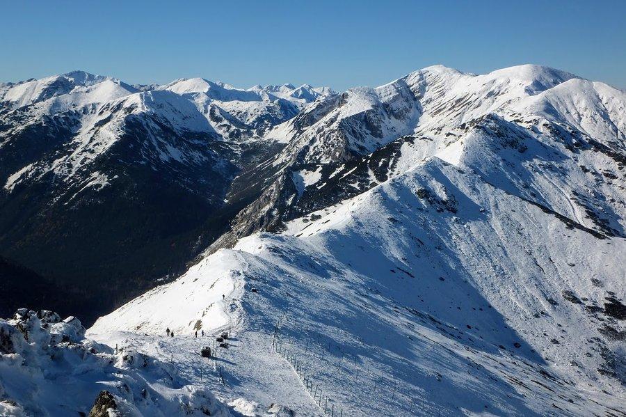 Winter time in Polish Tatra mountains