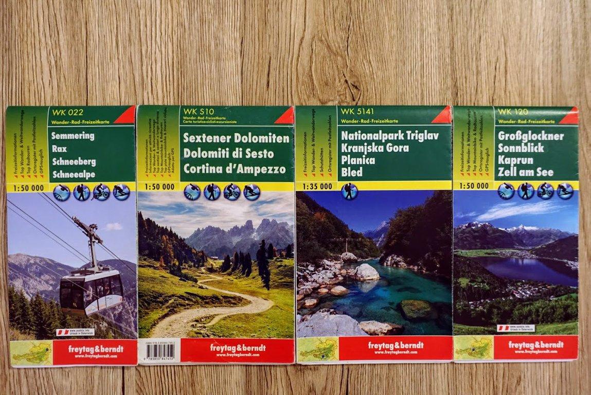 Freytag & Berndt European maps
