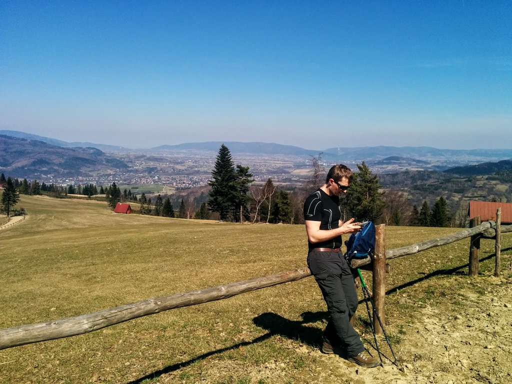 Take a break! - hiking in Beskidy mountains in southern Poland