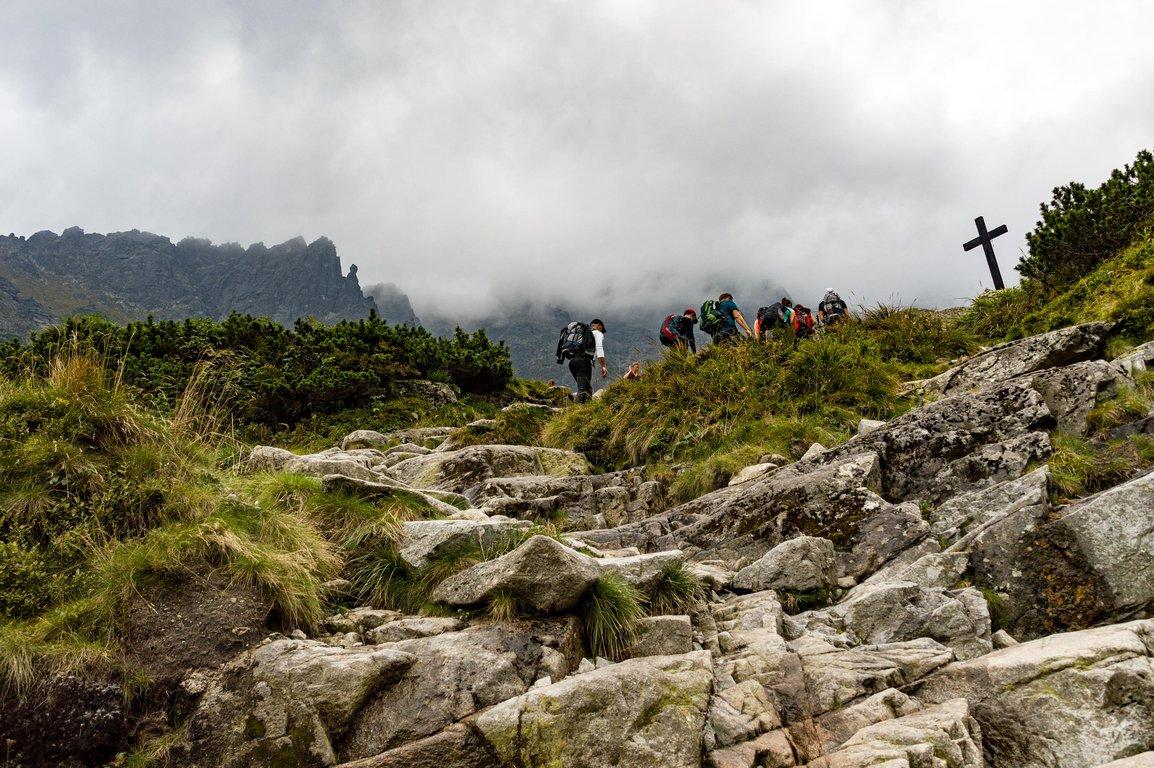 Hiking to Czarny Staw Polski, Black Pond, Tatra mountains