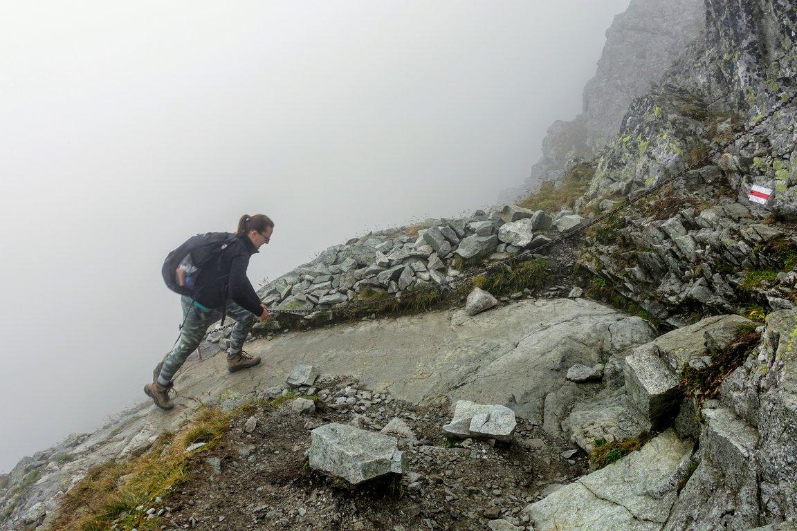Hiking to Rysy, Polish Tatra mountains