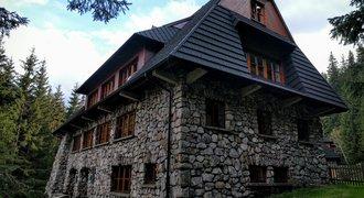 Mountain hut on Polana Chochołowska, Tatra National Park in Poland