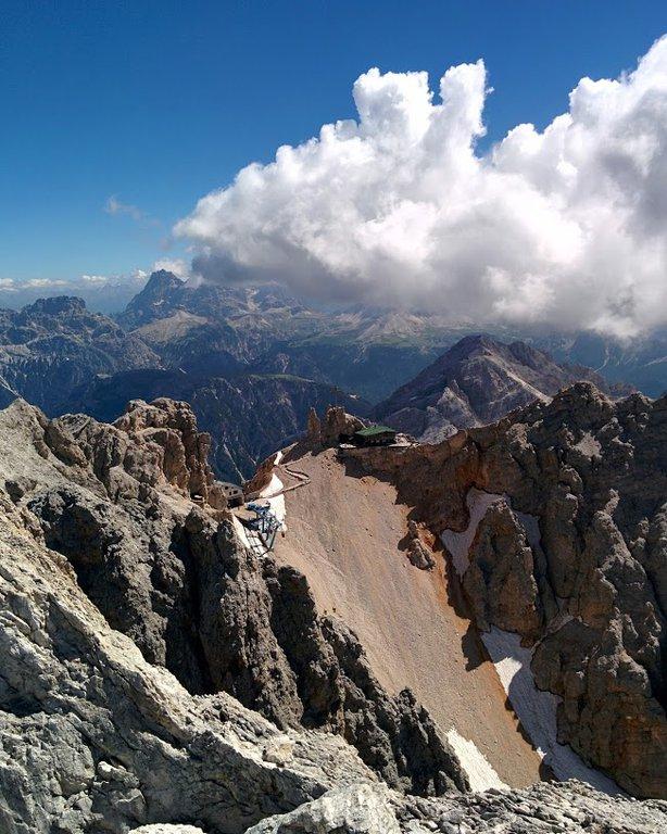 Via ferrata Ivano Dibona in Gruppo del Cristallo, Dolomites