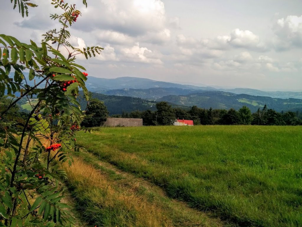 Beskidy mountains in southern Poland