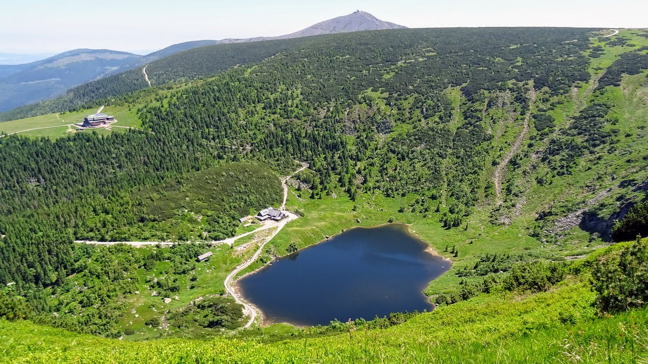 Maly Staw lake, Karkonosze mountains, Poland