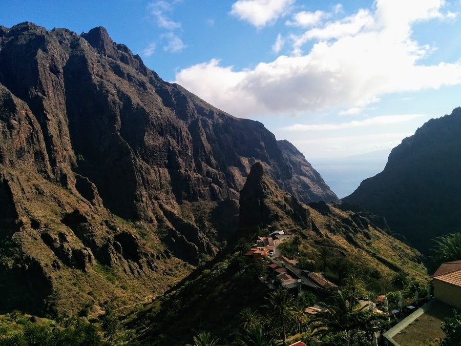 Masca village in Tenerife