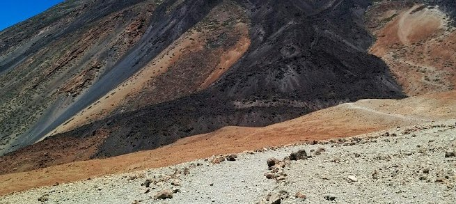 Hiking in Montana Blanca - Teide National Park, Tenerife