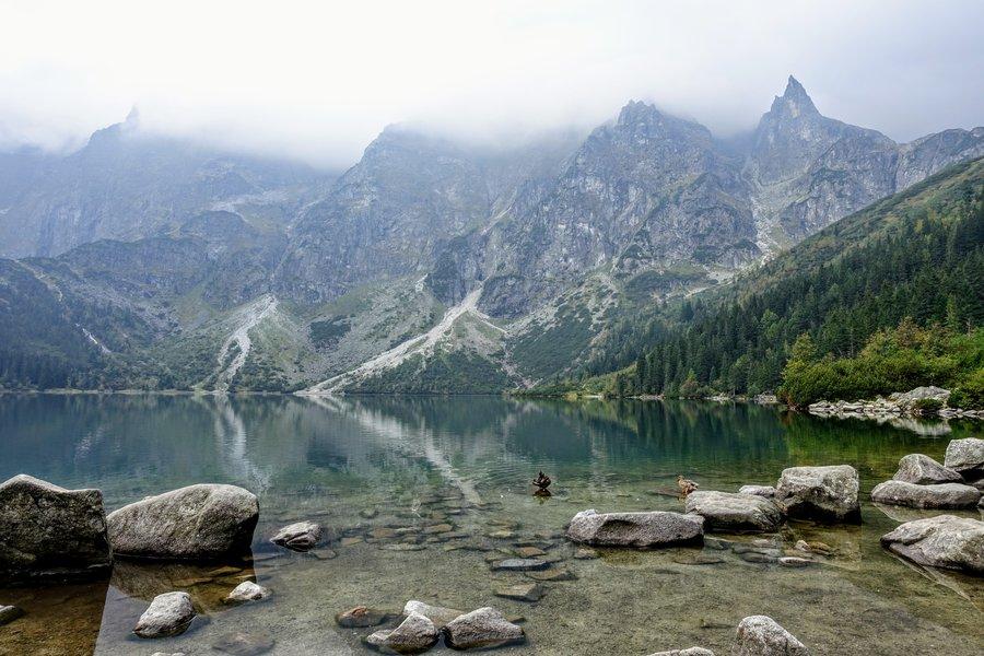 Morskie Oko lake in Tatra mountains, Poland.JPG