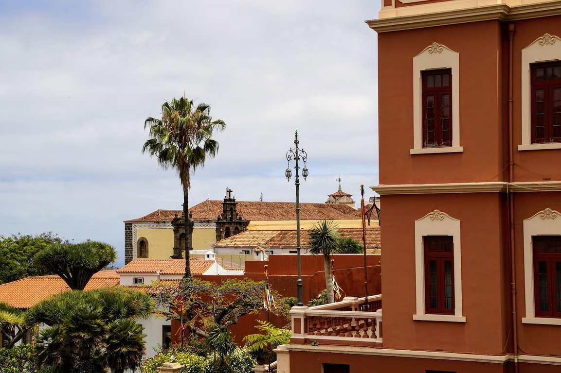 Buildings of La Orotava, Tenerife