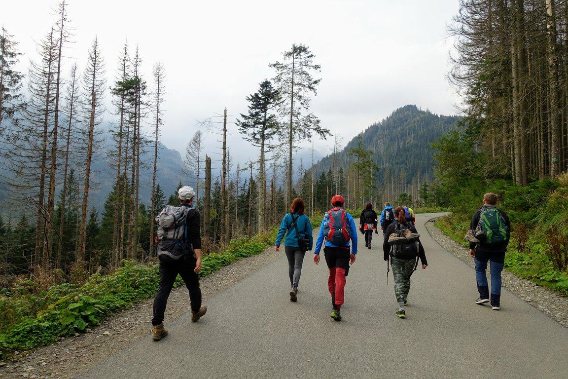 Road to Morskie Oko, Tatra mountains