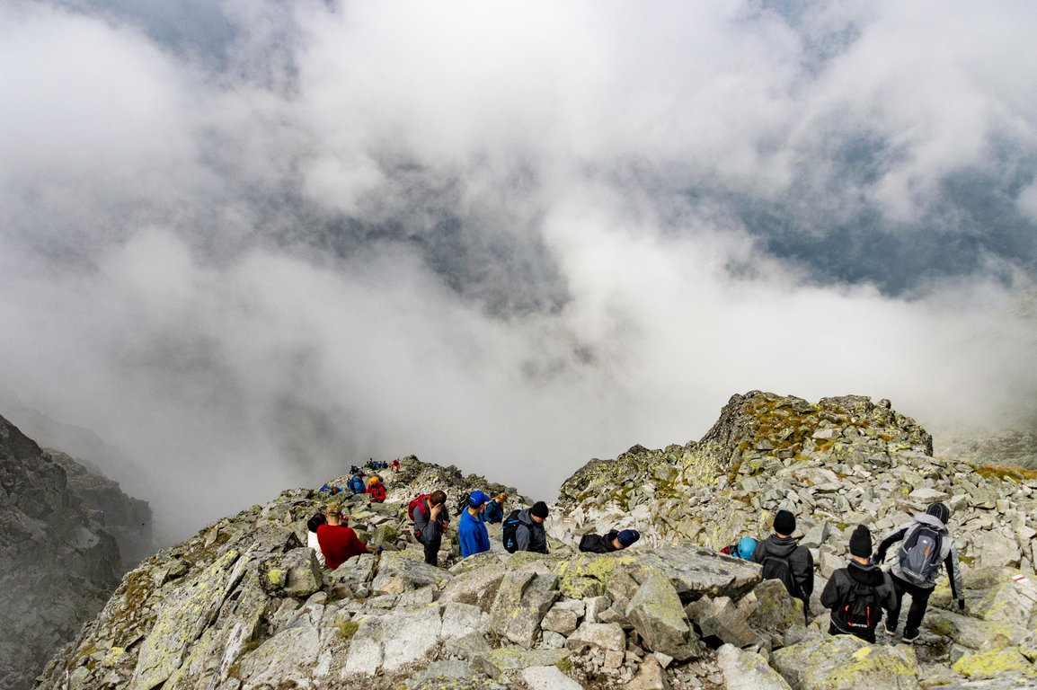 Hiking to Rysy, Tatra mountains