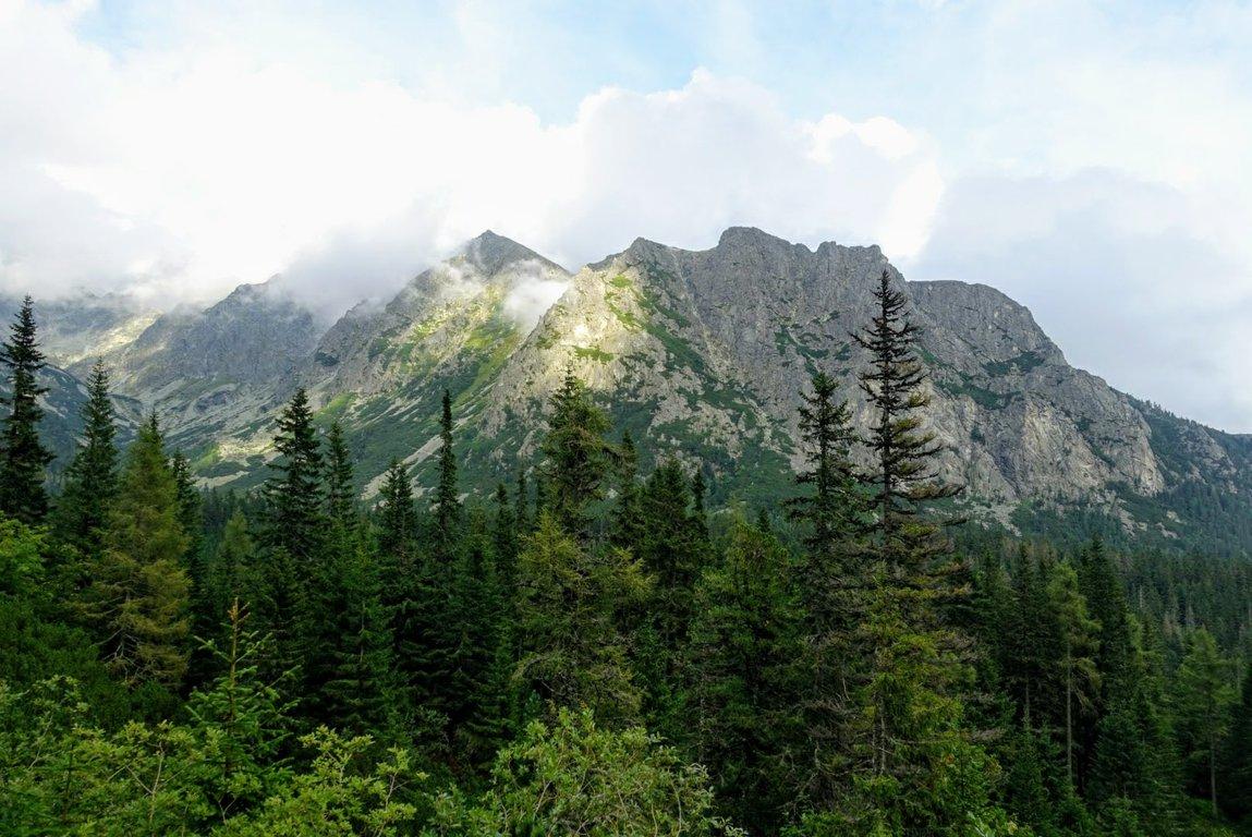 Tatra mountains near Popradské Pleso, Slovakia