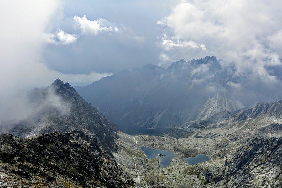 The highest peak in Poland - Rysy