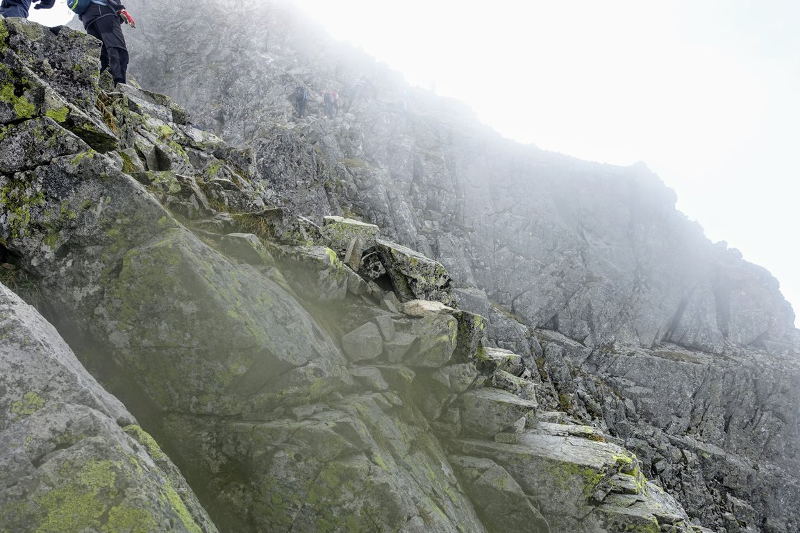 Trail leading to Rysy - the highest peak in Poland