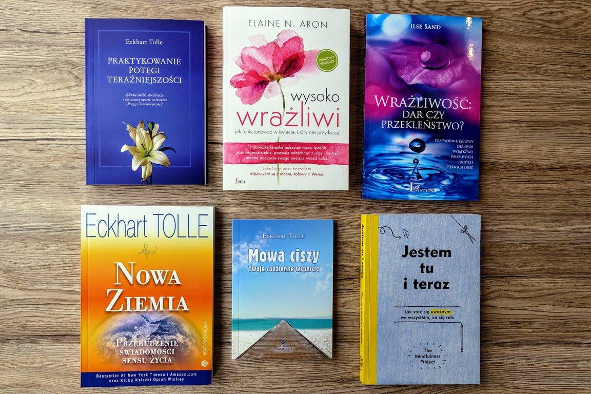 Useful books Elaine Aron and Eckhart Tolle