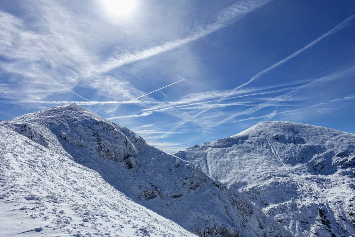 Western Tatra mountains in Poland - winter time