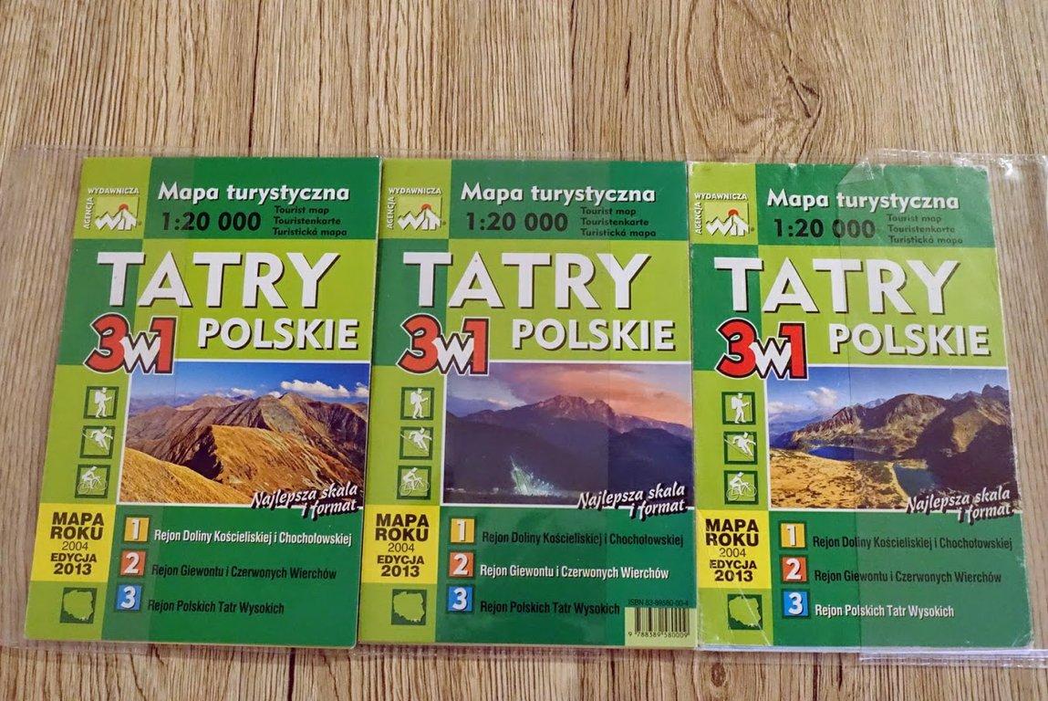 WiT maps - Polish mountains