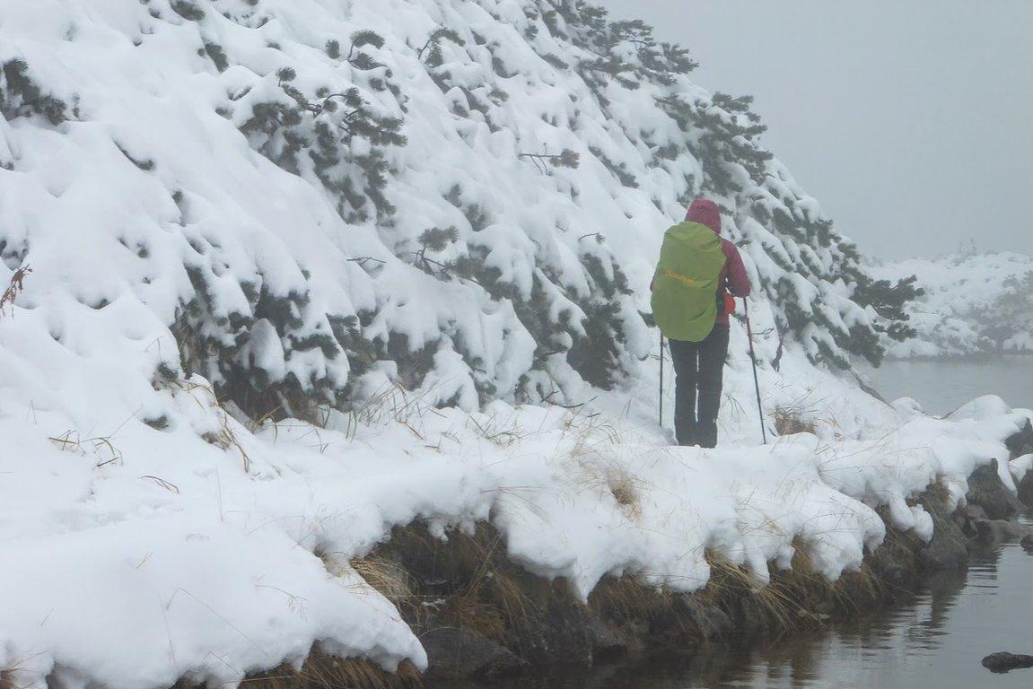 Winter hiking in Tatra mountains, Poland